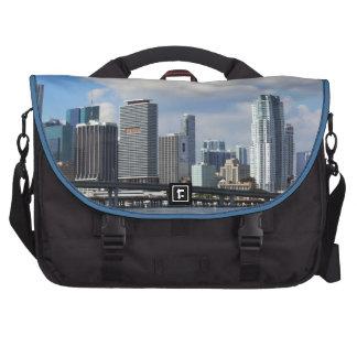 Waterfront view of Miami Laptop Bag