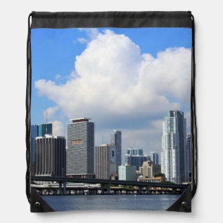 Waterfront view of Miami Cinch Bags