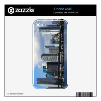 Waterfront view of Miami Skin For iPhone 4S