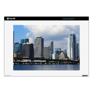 "Waterfront view of Miami Skins For 15"" Laptops"