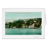 Waterfront View of San Francisco Yacht Club Greeting Card