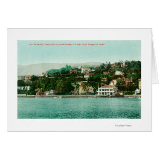 Waterfront View of San Francisco Yacht Club Card