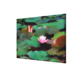 Watergarden Oil Painting Wrapped Canvas Gallery Wrap Canvas