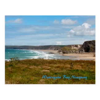Watergate Bay Newquay Cornwall Photograph Postcard