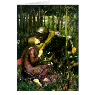 Waterhouse Beautiful Woman Without Mercy Card