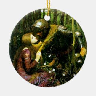 Waterhouse Beautiful Woman Without Mercy Ornament