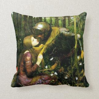 Waterhouse Beautiful Woman Without Mercy Pillow