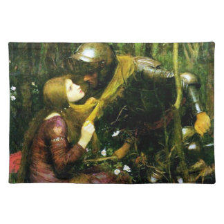 Waterhouse Beautiful Woman Without Mercy Placemat