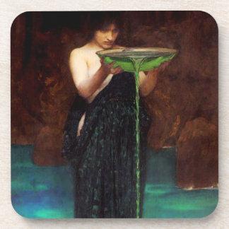Waterhouse Circe Invidiosa Coasters