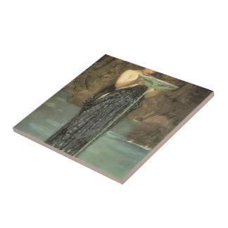 Waterhouse Circe Invidiosa de Juan Guillermo Azulejo Ceramica