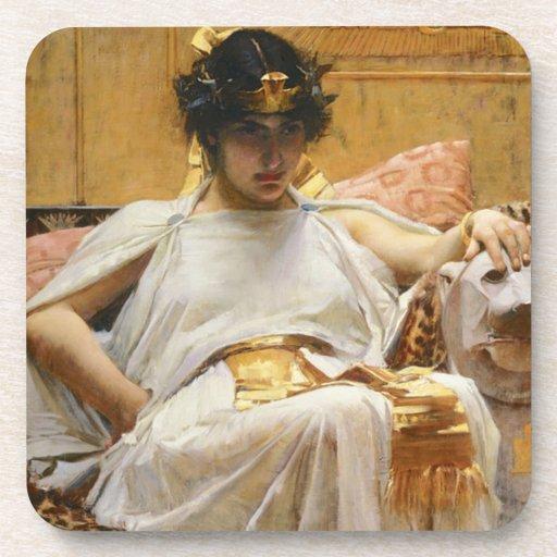 Waterhouse Cleopatra Coasters