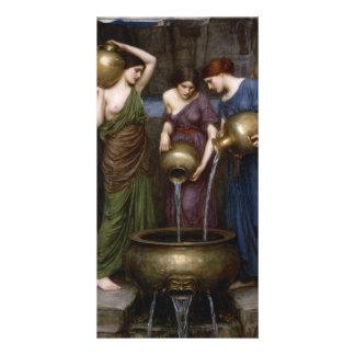 Waterhouse Danaides Pre-Raphaelite Art Card