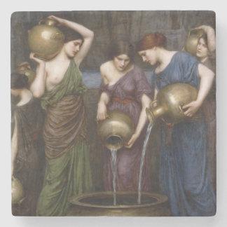 Waterhouse de Danaides de la bella arte del Posavasos De Piedra