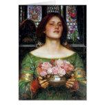 Waterhouse de Juan - capullos de rosa de YE del fr Felicitación