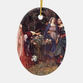 Waterhouse de Juan Guillermo el jardín encantado Ornamentos De Reyes