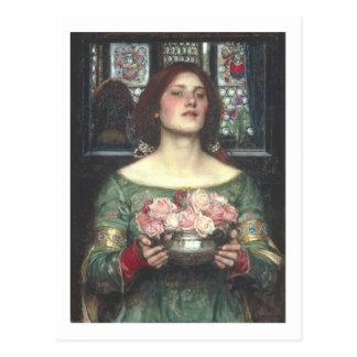 Waterhouse de Juan W - frunce YE Rosebuds (1908) Tarjetas Postales