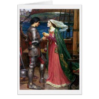 Waterhouse de Juan W - Tristan e Isolda (1916) Felicitaciones