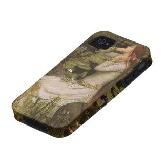Waterhouse de Ofelia (por la charca) JW, arte del Vibe iPhone 4 Carcasas