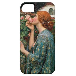 Waterhouse el alma de la caja color de rosa del iPhone 5 funda