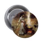 Waterhouse el botón mágico del círculo pin