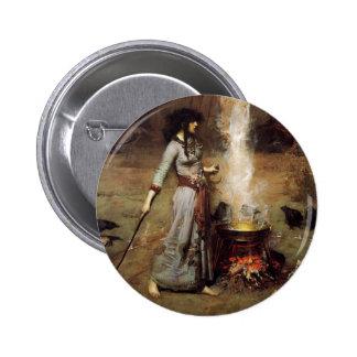 Waterhouse el botón mágico del círculo