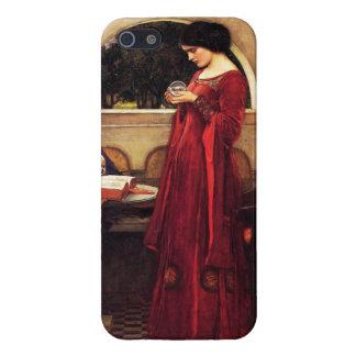 Waterhouse el caso del iPhone 5 de la bola de cris iPhone 5 Cárcasa