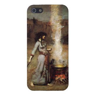 Waterhouse el caso mágico del iPhone 5 del círculo iPhone 5 Fundas