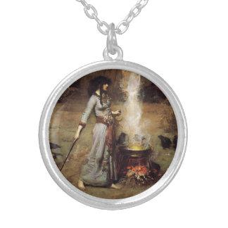 Waterhouse el collar mágico del círculo