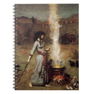 Waterhouse el cuaderno mágico del círculo