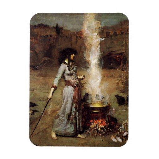 Waterhouse el imán mágico del círculo