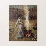 Waterhouse el rompecabezas mágico del círculo
