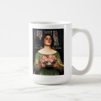 Waterhouse Gather Ye Rosebuds Mug