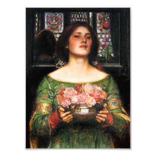 Waterhouse Gather Ye Rosebuds Print