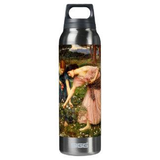 Waterhouse Gather Ye Rosebuds Thermos Water Bottle