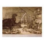 Waterhouse Hawkins de Benjamin del estudio del Cen Tarjetas Postales