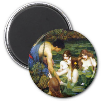Waterhouse Hylas and the Nymphs Magnet