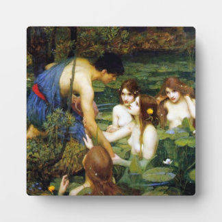 Waterhouse Hylas and the Nymphs Plaque