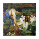 Waterhouse Hylas and the Nymphs Tile
