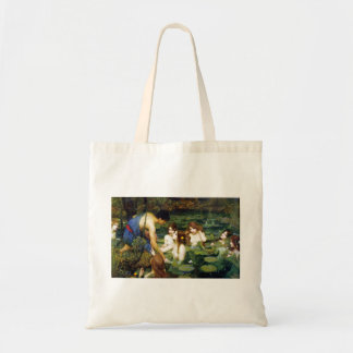 Waterhouse Hylas y la bolsa de asas de las ninfas