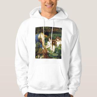 Waterhouse Hylas y la sudadera con capucha de las