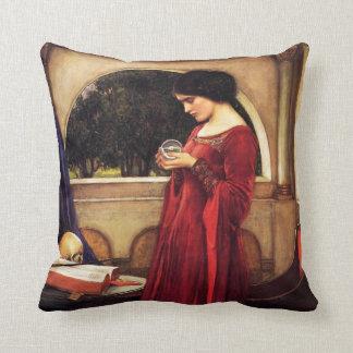 Waterhouse la almohada de la bola de cristal