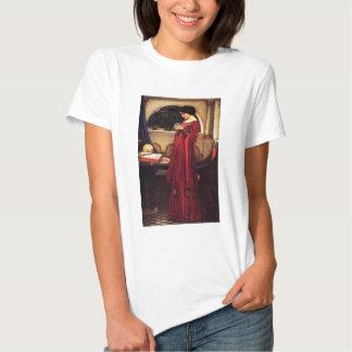 Waterhouse la camiseta de la bola de cristal poleras