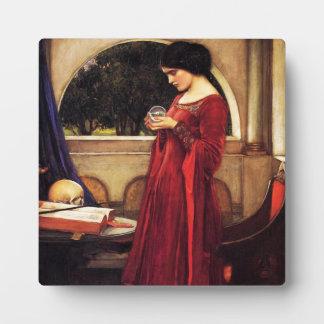 Waterhouse la placa de la bola de cristal