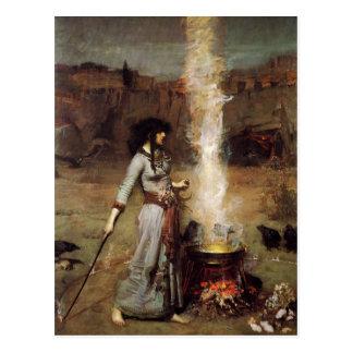 Waterhouse la postal mágica del círculo