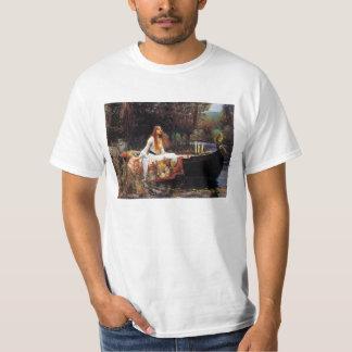 Waterhouse la señora de la camiseta de Shalott Playera