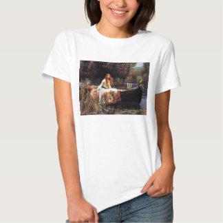 Waterhouse la señora de la camiseta de Shalott Polera