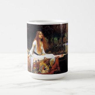 Waterhouse la señora de la taza de Shalott