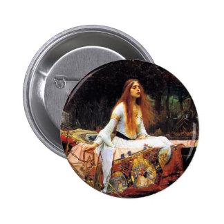 Waterhouse la señora del botón de Shalott Pin