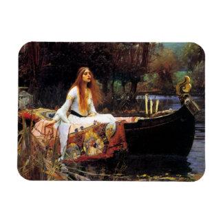 Waterhouse la señora del imán de Shalott