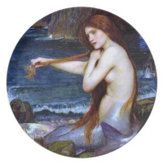 Waterhouse: La sirena Platos